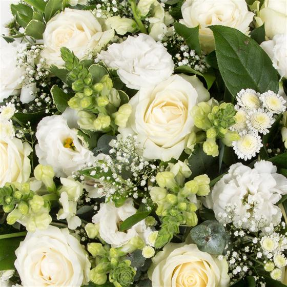 Best Flower Shops Florists In Johannesburg At Joburgsnob Com: Classical White Posy